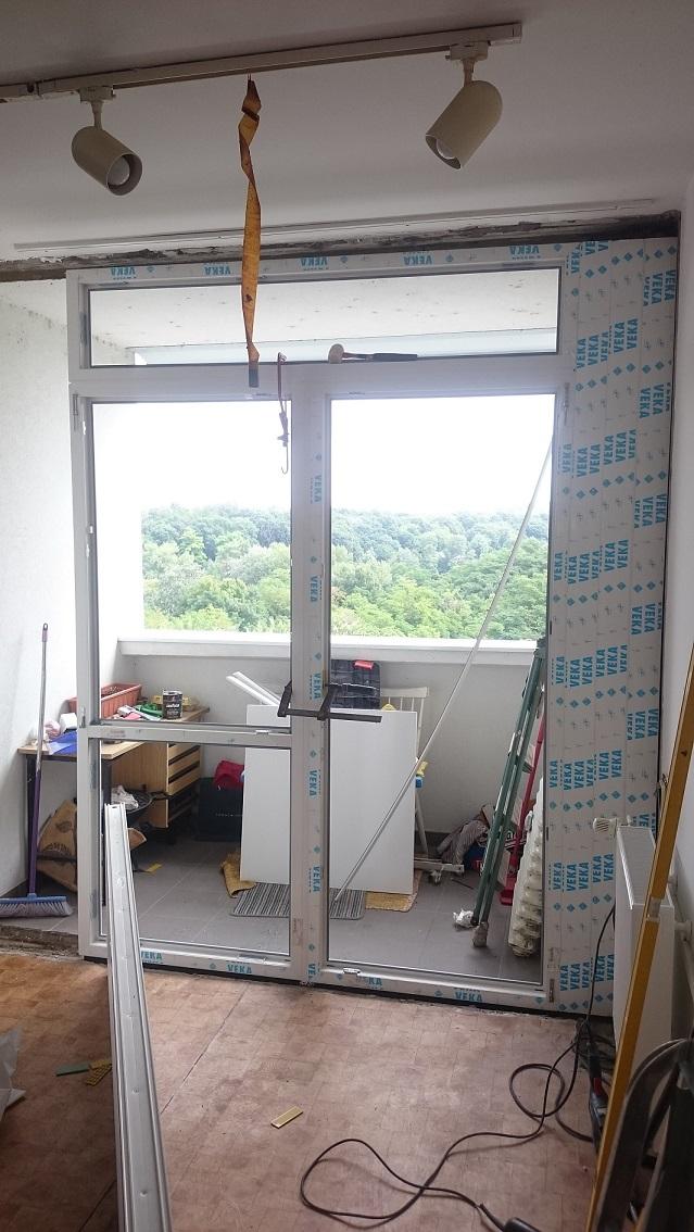 Balkonová stena - Veľká 2