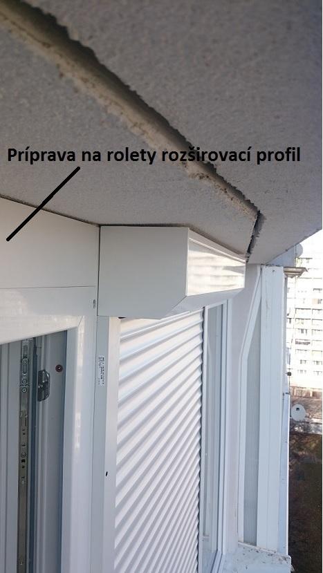 Vonkajšia Roleta predokenná - príprava